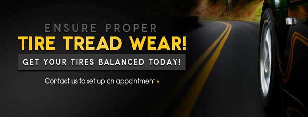 Ensure Proper Tire Tread Wear. Contact Us Today to Schedule an Appointment