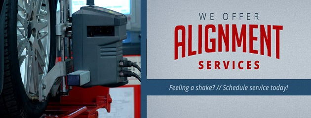 We Offer Alignment Services